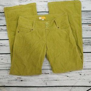 Tulle wide leg corduroy pants like new size 5